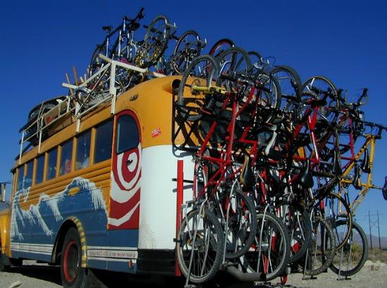 Bus vélo car
