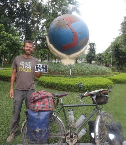 Paris Hanoi à vélo