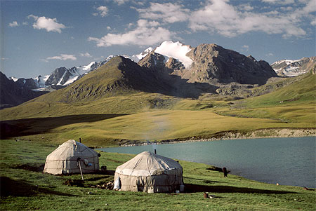 Kirghiztan Yourte