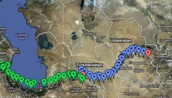 Feuille de route : de Bangkok à Paris en vélo